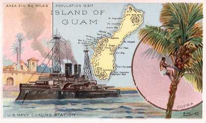 Guam coaling station