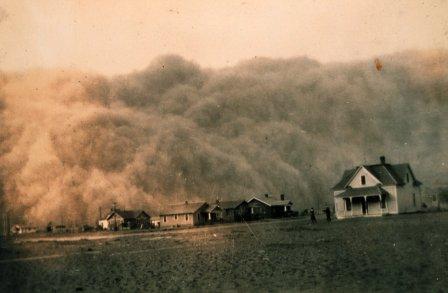 Dustbowl Stratford Texas 1935