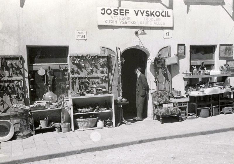 Bratislava interwar shop