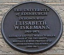 Elisabeth_Wiskemann_plaque