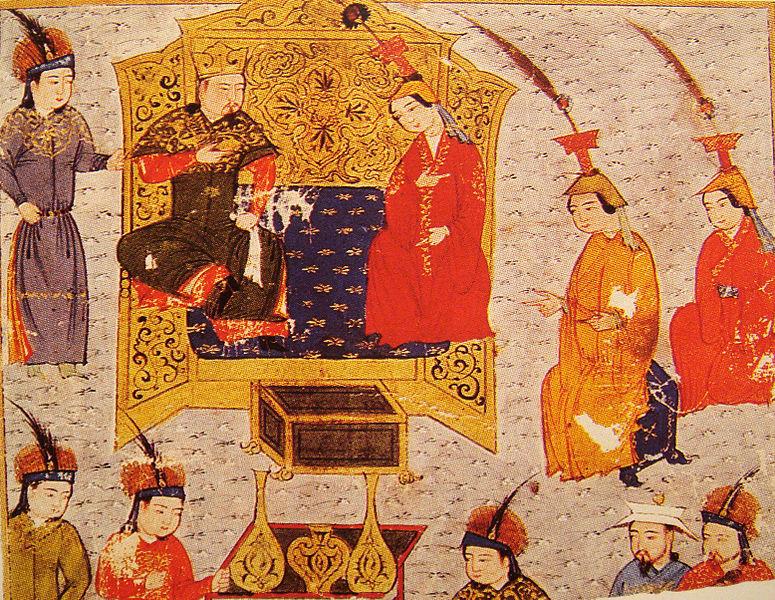 Tului With Queen Sorgaqtani