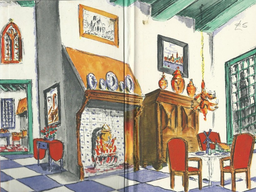 Interior of Frits' House